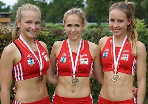 SM Staffel Nadine Kluser, Michelle Eigenmann, Sandra Löhrer