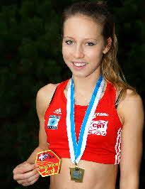 Schweizermeisterin Sandra Löhrer