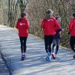 Der weite Weg eines Läufers