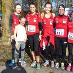 Die Läuferinnen in Lustenau