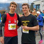 Dario und Ramon - Läufer und Ringer