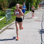 Céline 200 m vor dem Ziel
