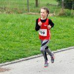 Janina beim Einlaufen