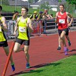 Daniel nach 2 Runden im 1000 m Lauf