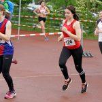Kim Lichtensteiger im 1000 m Lauf