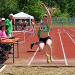 Sarina im Weisprung der W U18