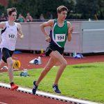 Dario im 1500 m Lauf