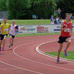Daniel über 800 m nach dem Start
