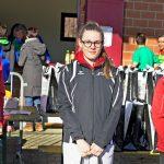 Samira als Zweite des Crossrennens