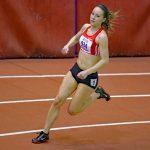 Sandra im 200 m Rennen