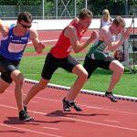 Daniel nach den Start bei 10 m