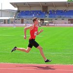 Daniel über 400 m, erstmals mit einer 50er Zeit