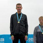 Daniel Sieger im 400 m Lauf