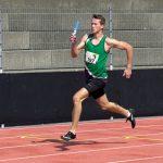 Daneil in der 4 x 400 m Staffel