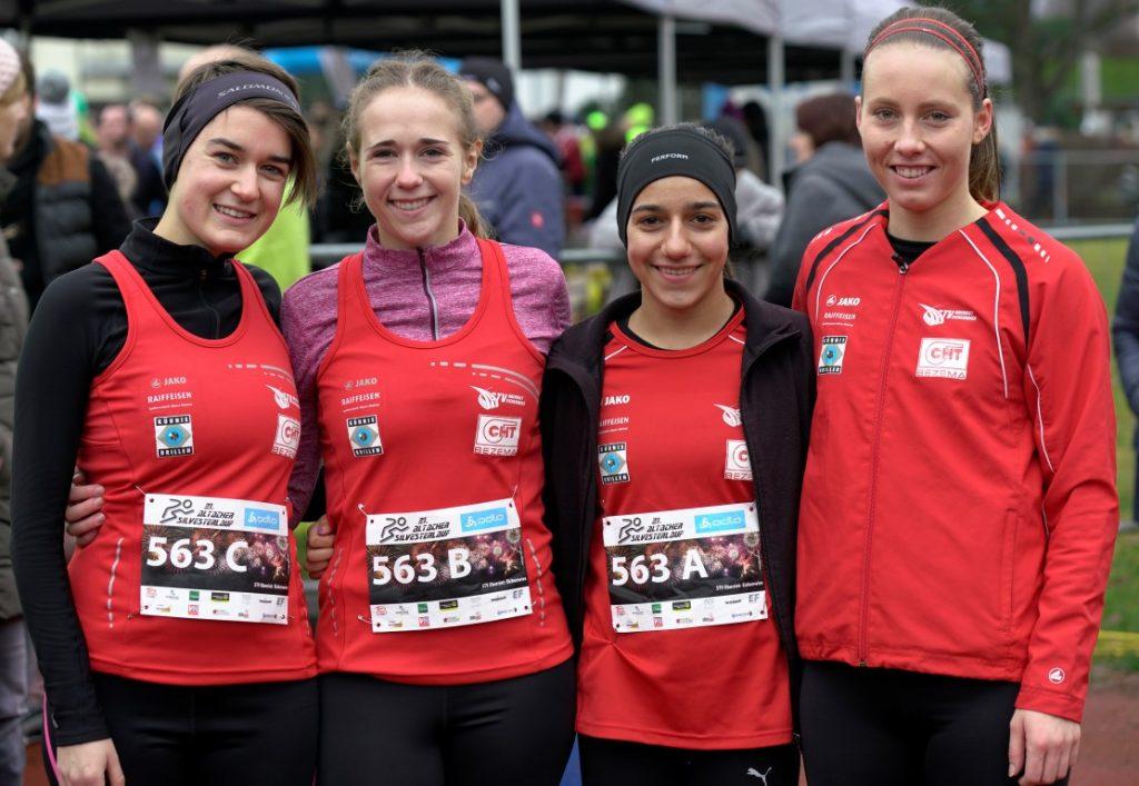 Das Siegerteam in der Damen Staffel