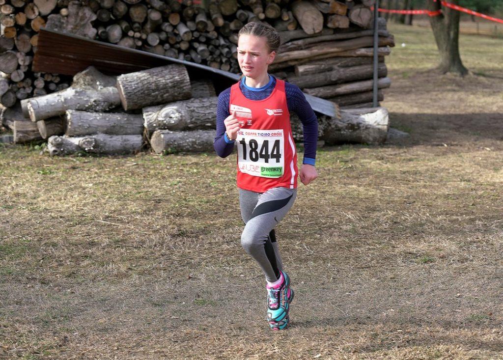 Janina kurz vor dem Ziel