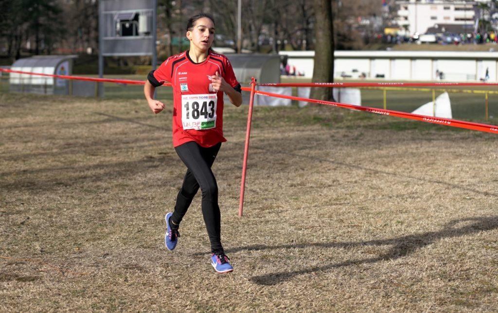 Samira kurz vor dem Ziel