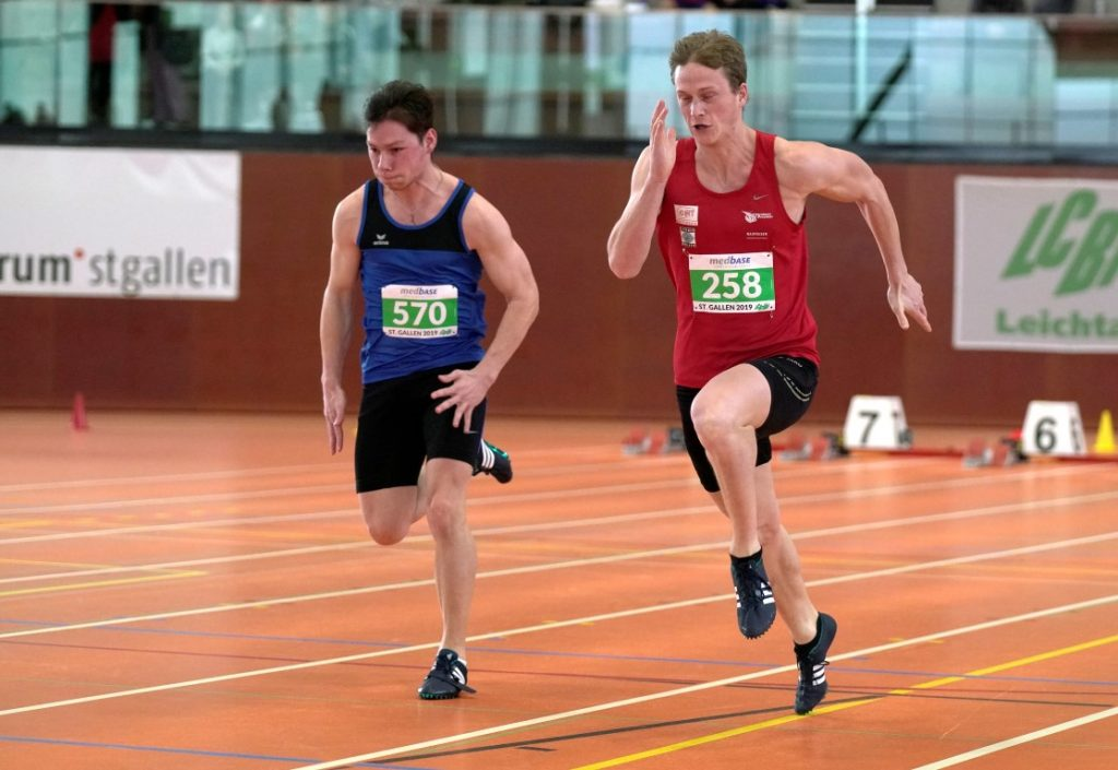 Marc im Sprint