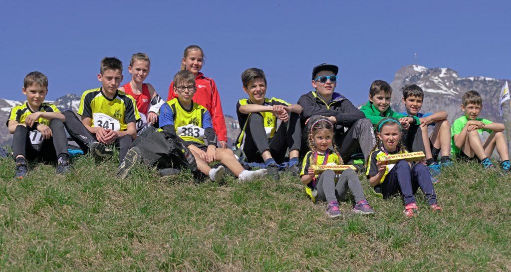 Die Oberrieter Läufer beider Vereine
