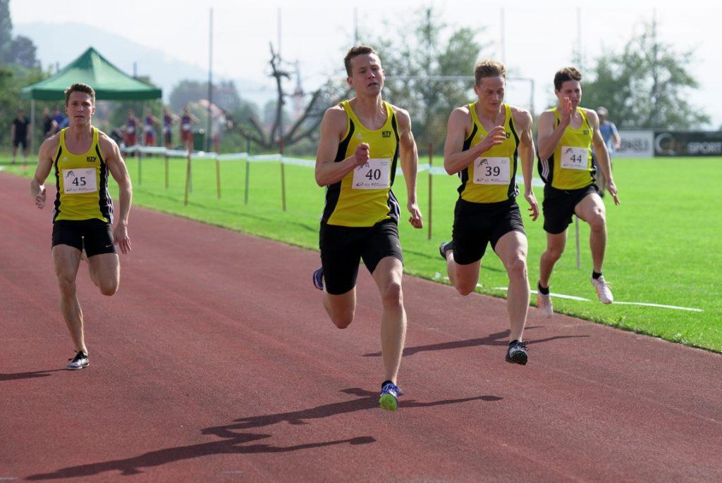 100 m Lauf des TV Oberriet