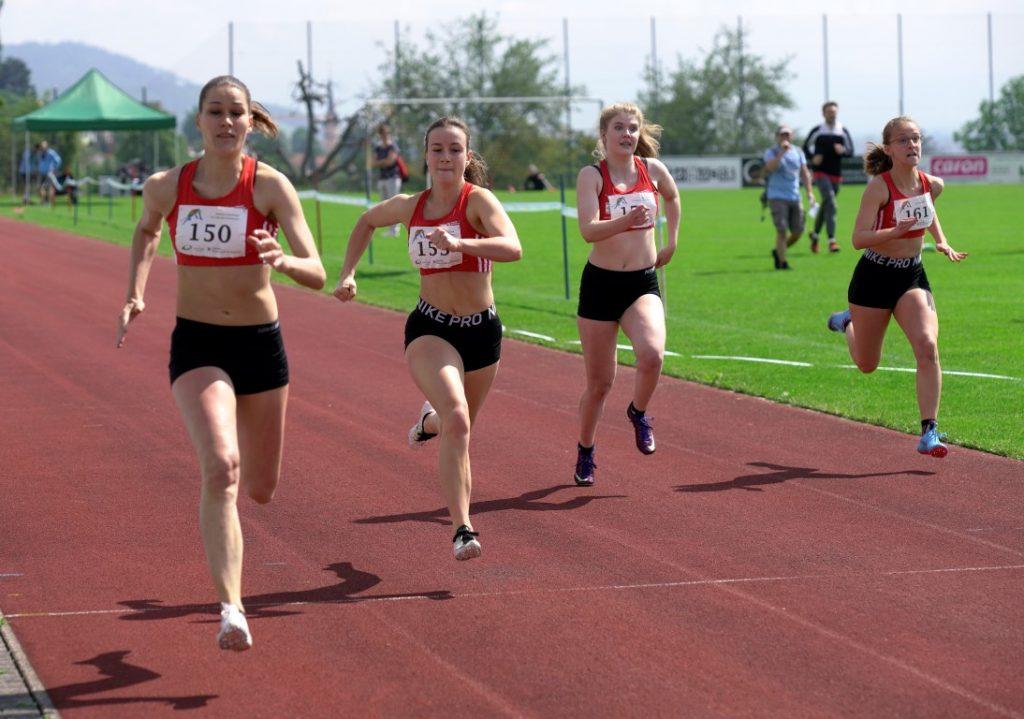 100 m der Damen