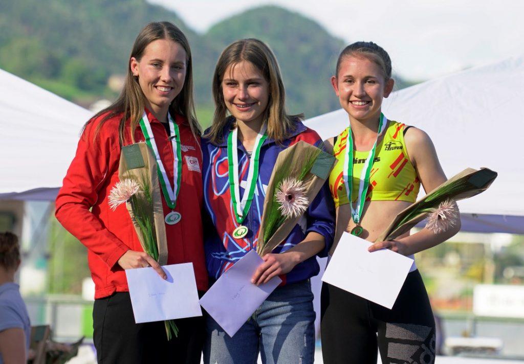 Sandra Zweite im 600 m Lauf