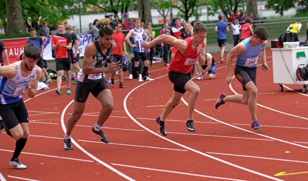 Daniel Start über 100 m