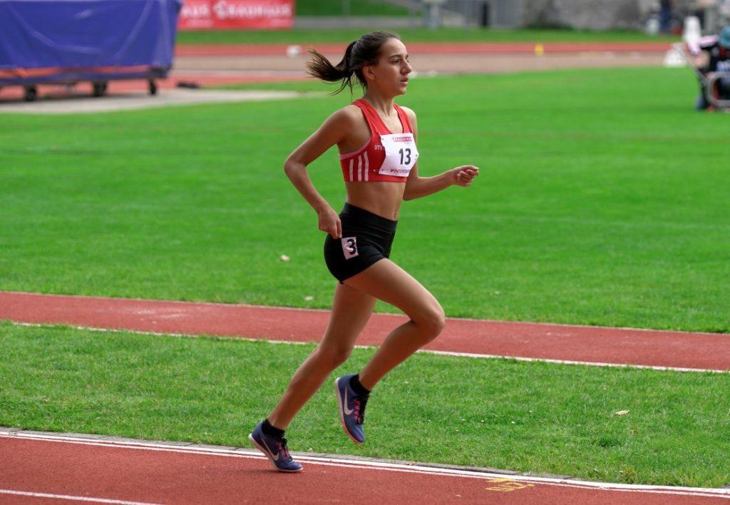 Samira auf der letzten Runde