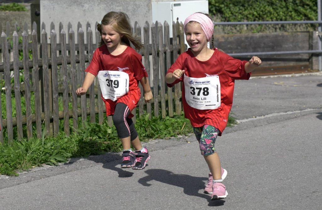 Einlaufen kann auch Spass machen