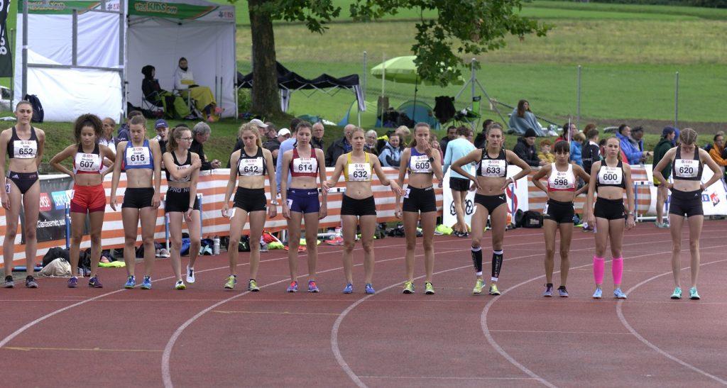 Finalistinnen über 1500 m