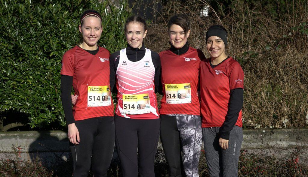 Damenteam; Sandra, Michelle, Tara und Samira