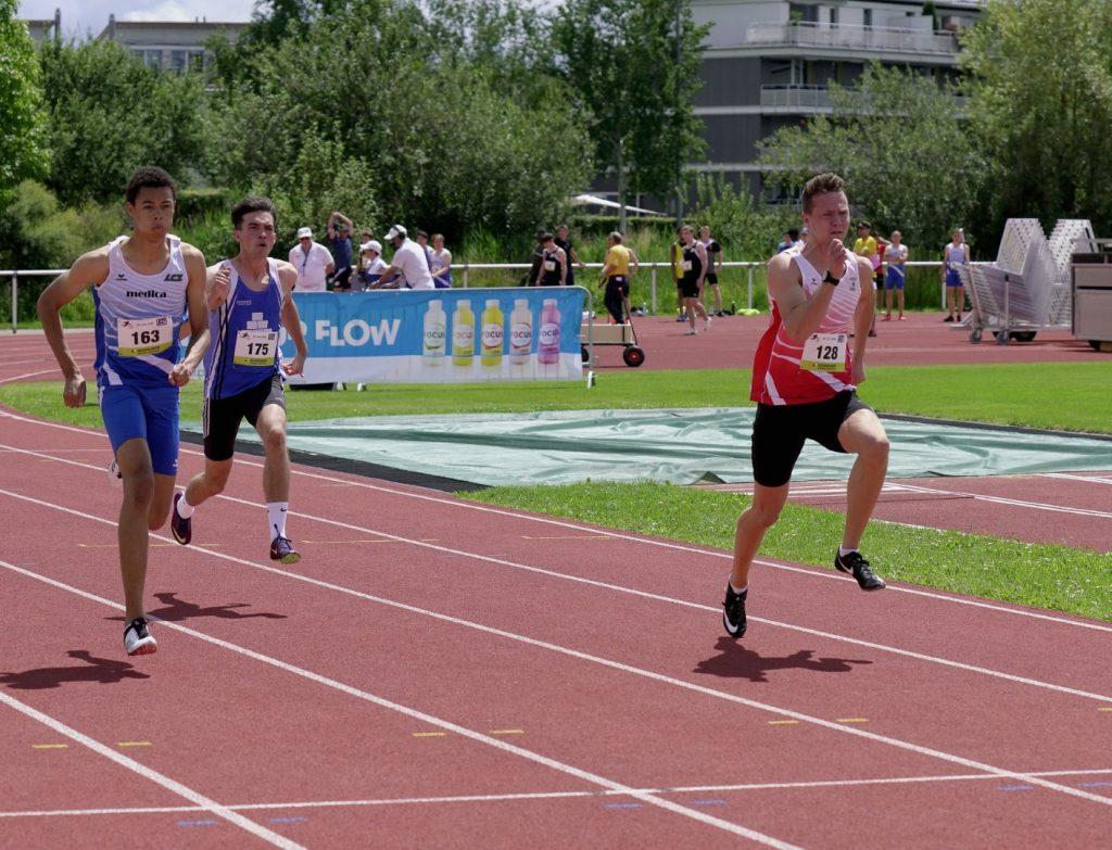 Daniel über 100 m