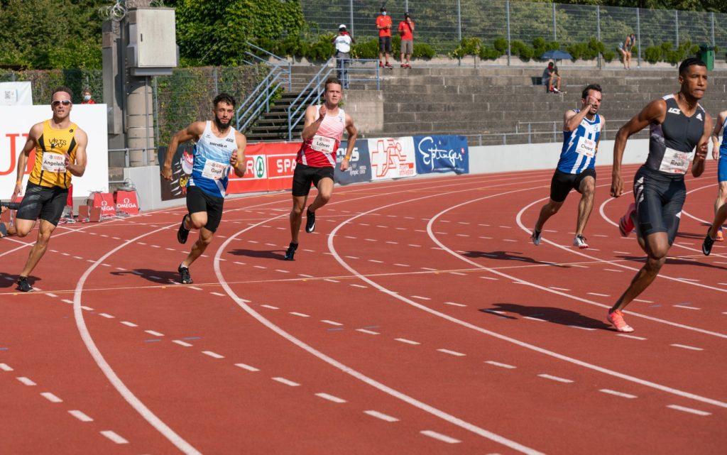 Finallauf 200 m von Daniel